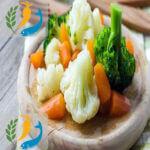 Foods Rich In Fiber Boiled vegetables